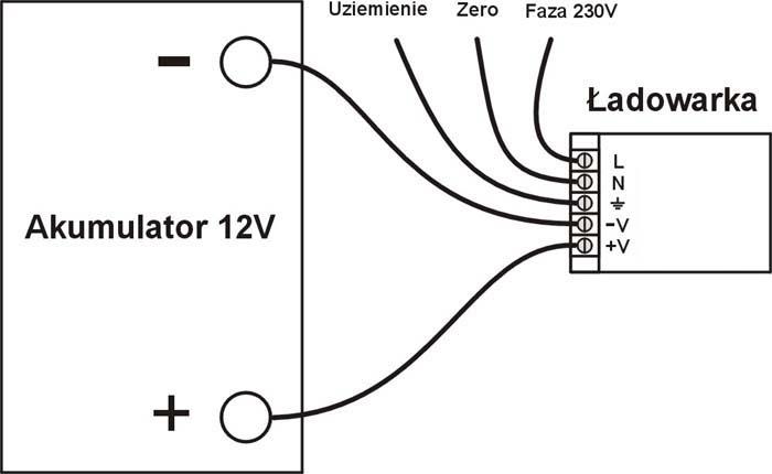 Schemat pod��czenia silnika z regulatorem